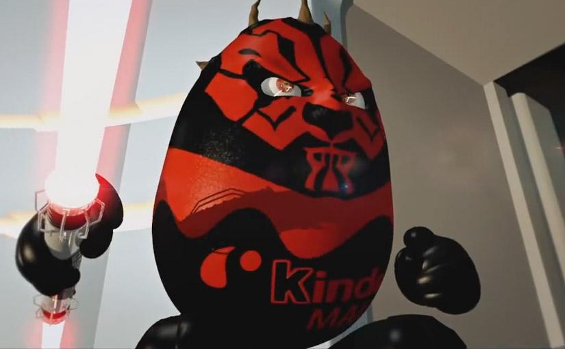 Star Wars Kinder / 2ème année / Animation