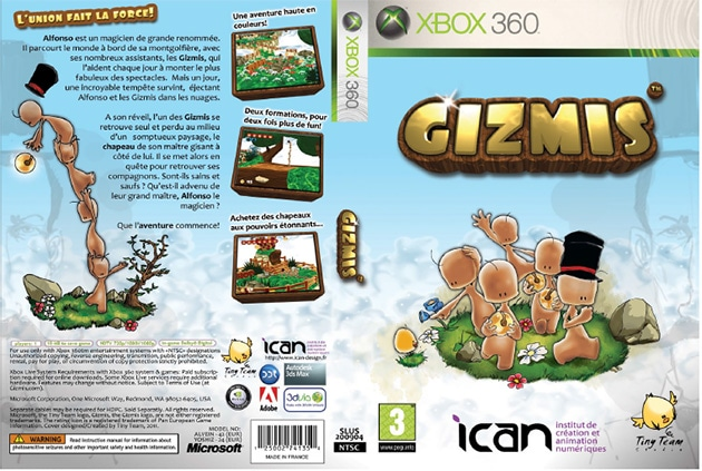 Gizmis jeu vidéo