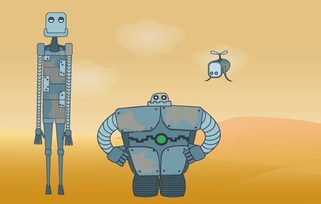 robot et developpement durable design numérique