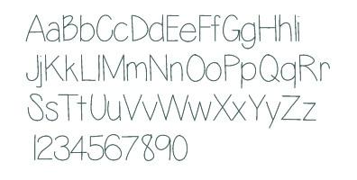 lazyday typographie