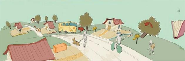 animation numérique film paper boy le magnifique