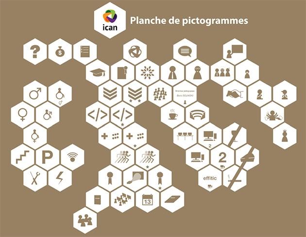 Plaquette numérique 3ème année ICAN / Pictos