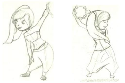 circus illustrator animation