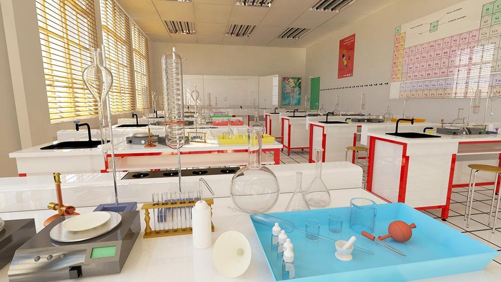 classroom 3d ICAN