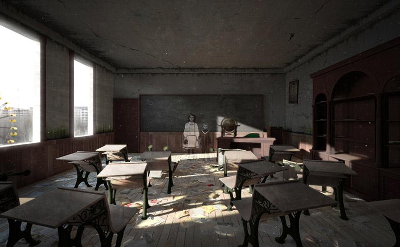 Classroom / Animation / 3ème année