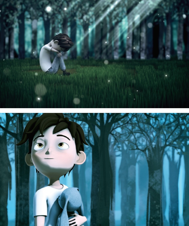 wandering animation numérique