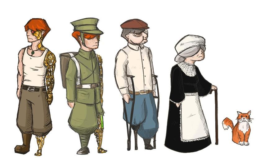 «Soldats inconnus», la suite… / Victoria Wilhelm / Game design 02