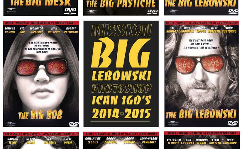 Mission « The big Lebowski » / Photoshop 2D / Game design 1ère année
