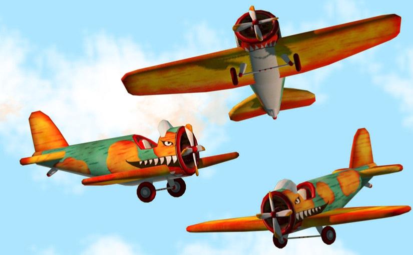 Tutoriel, texture d'un avion a l'aide d'un unwrap / 2ème année Animation numérique
