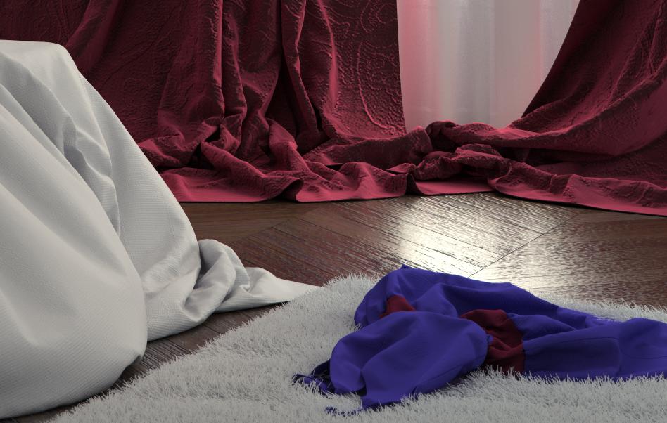 Haussmannian Bedroom - détail