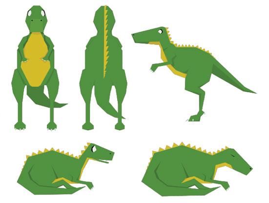 Fossiles animation numérique ICAN