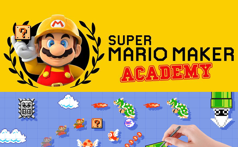 super mario maker academy