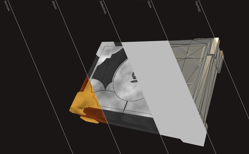 Container / Modélisation 3d / Game design 03