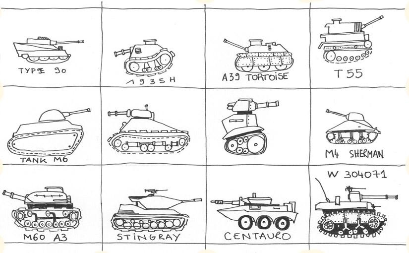 Camille s'en va-t-en guerre / Bye & Tanks you ;)
