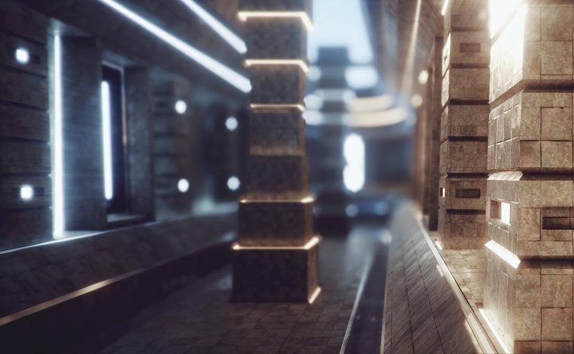 Rendu scène Unity / Game design
