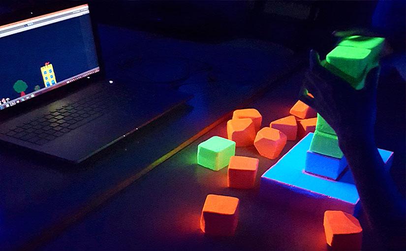 Lumière Noire / jeu d'édification interactif / Game design 03