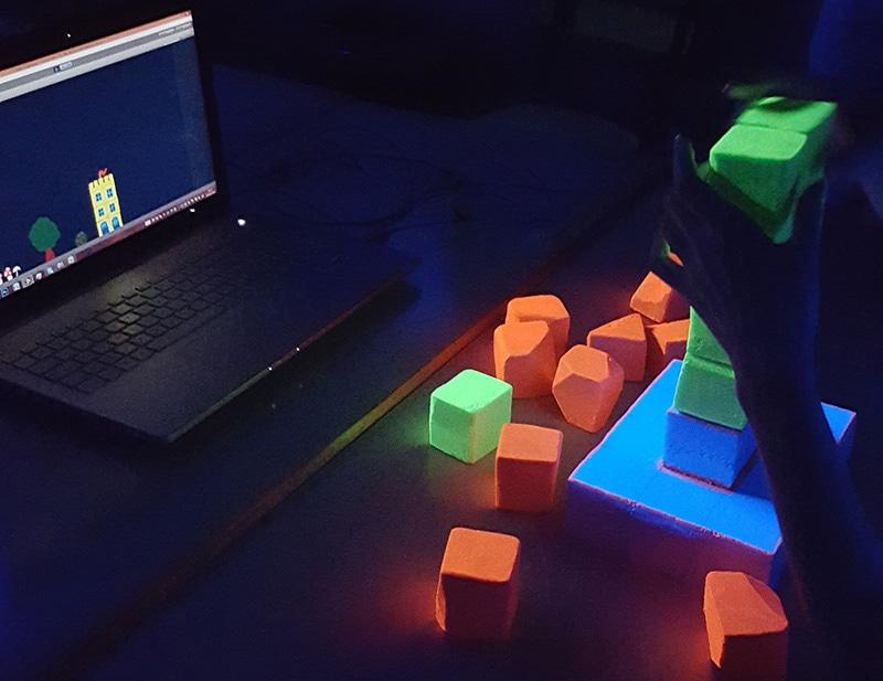 lumière noire jeu video