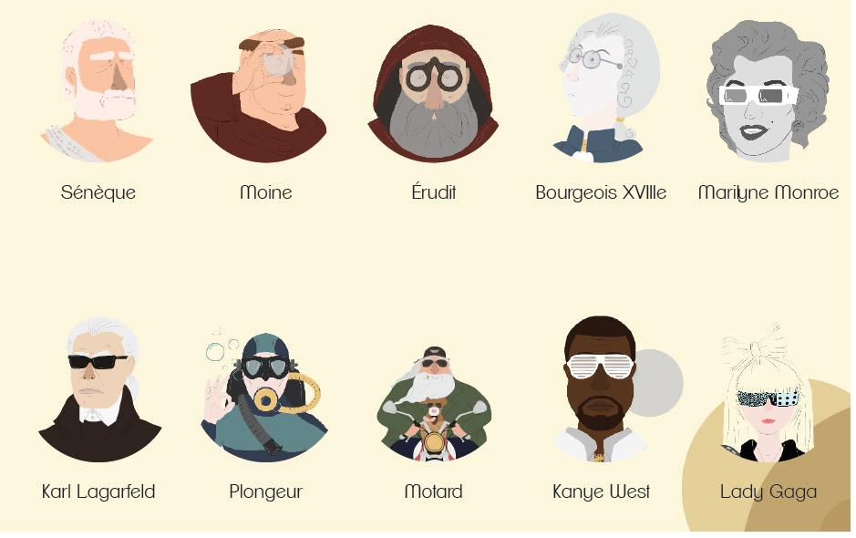 la petite histoire des lunettes / film animation