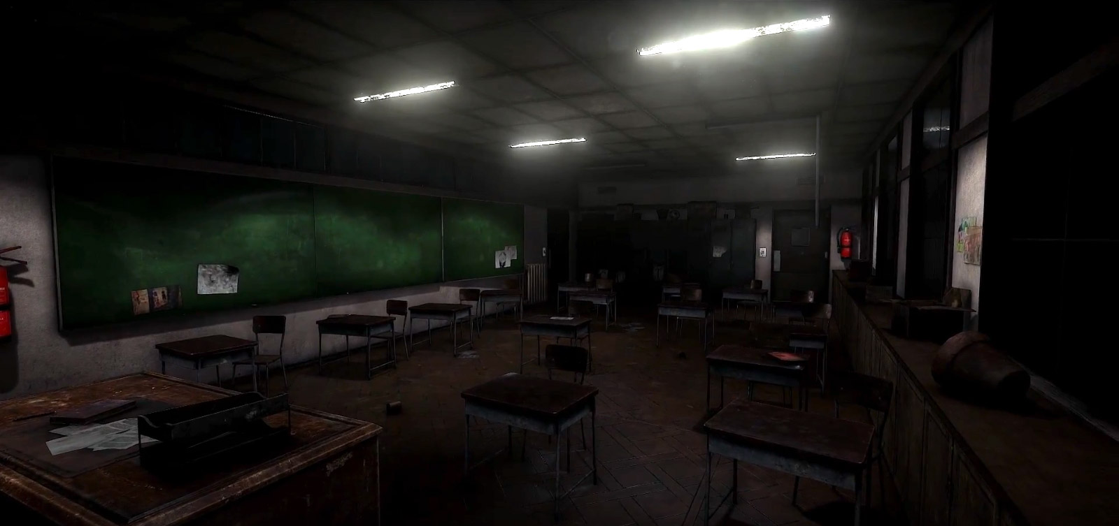 classroom unity silent hill