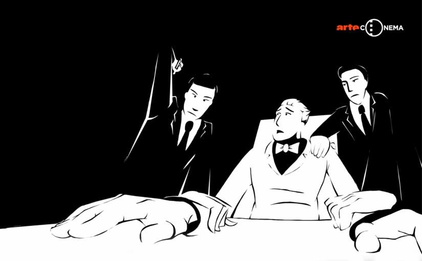 Sitdown sélectionné au concours de courts métrages d'animation d'Arte !