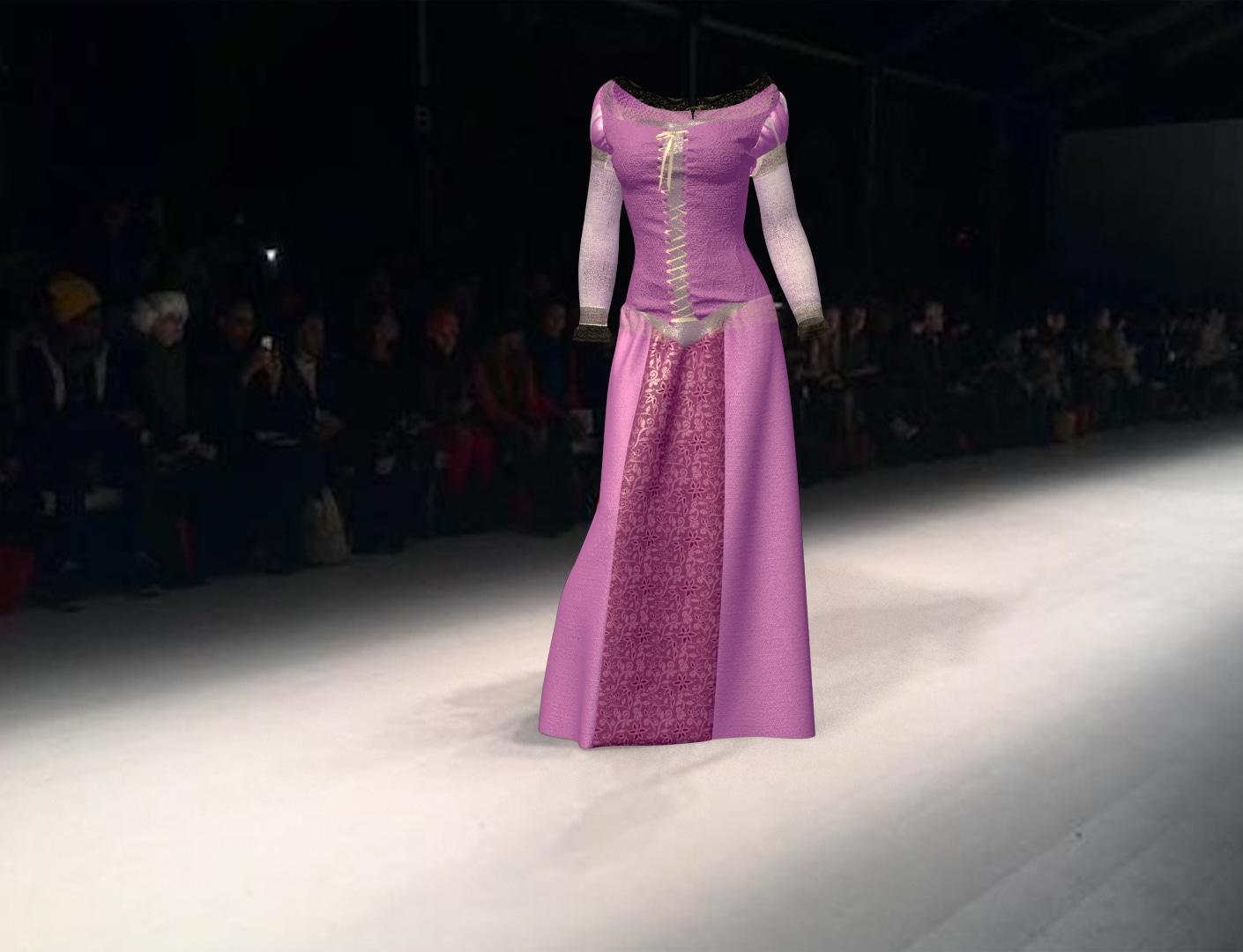 Création d'un vêtement 3D Avec Marvelous Designer 5 / ican
