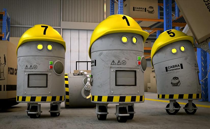 Projet Robot 3D / Animation 1ère année