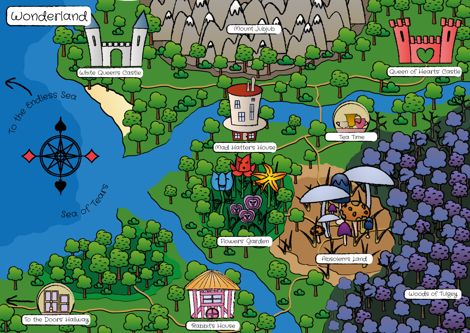 carte wonderland