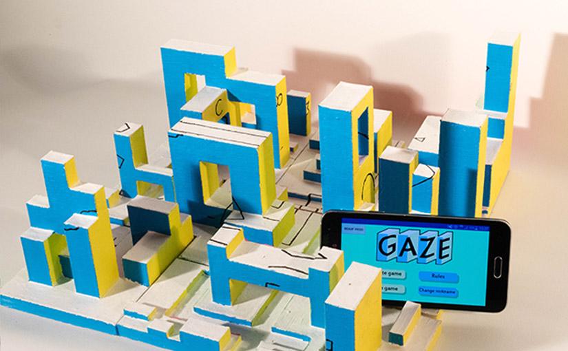 Gaze / Jeu de société et expérience transmedia