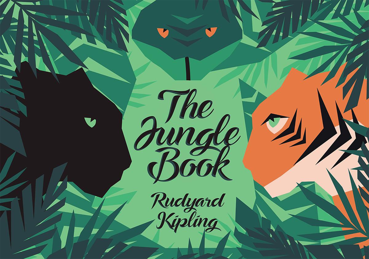 livre de la jungle, illustration