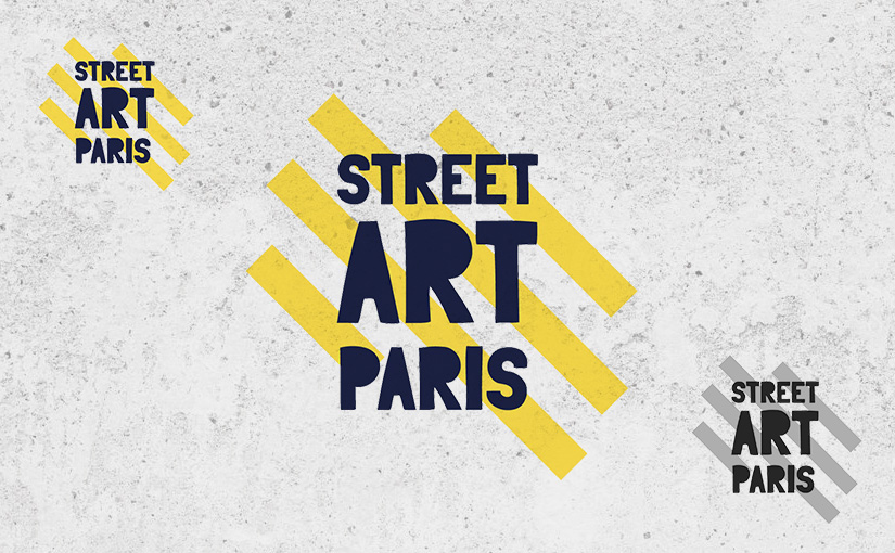 Logo « Street Art Paris » / Webdesign 01