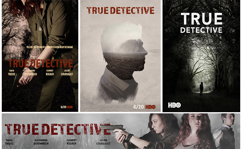 Pastiche / « True Detective » / Animation 02