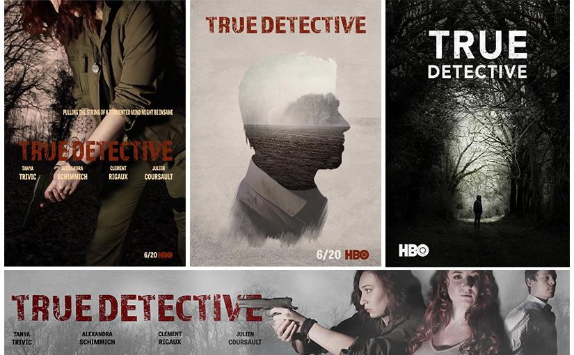 Pastiche / «True Detective» / Animation 02