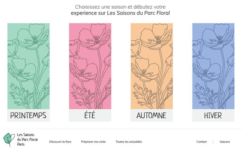 Les Saisons du Parc Floral / Web 01