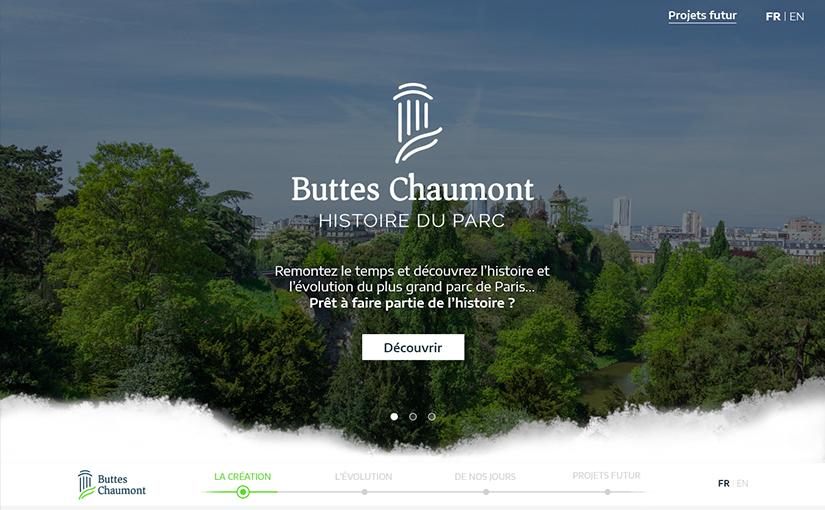 Histoire des Buttes-Chaumont / Web 03-15 mois