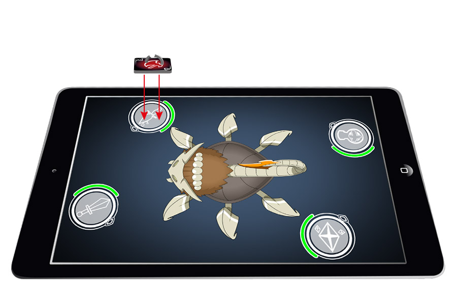 team dungeon jeu tablette coopératif