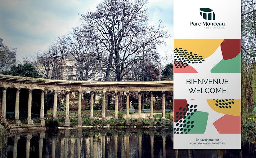 Identité visuelle / Parc Monceau / 3W-15mois