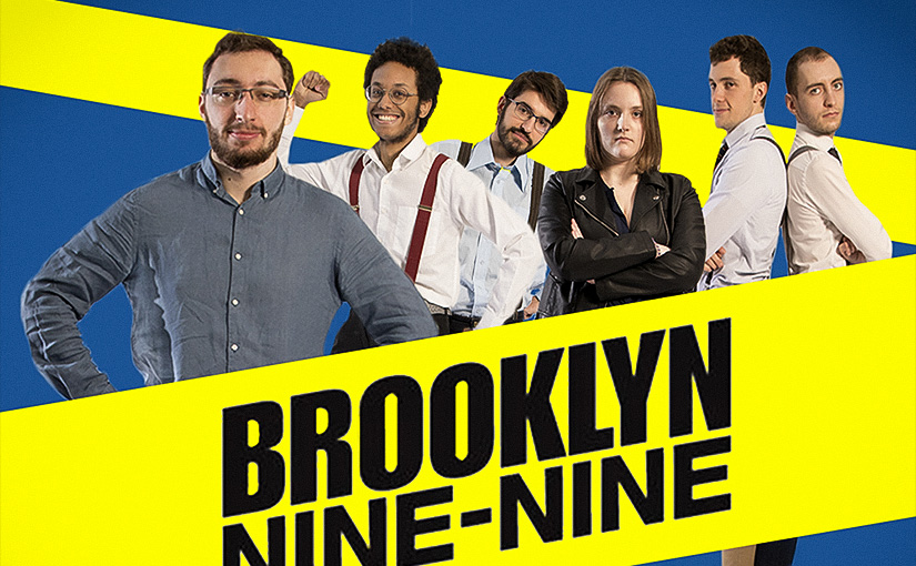 Pastiche / BROOKLYN NINE-NINE / Animation 02