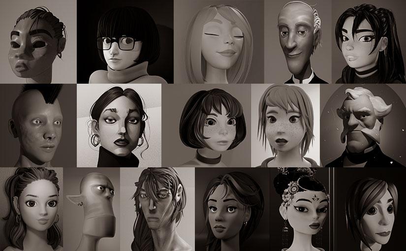Bustes 3D / Animation 3D-02
