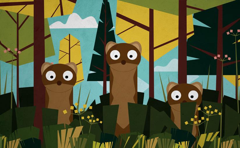 Poules et Coqs, Camille Saint-Saëns / Animation02