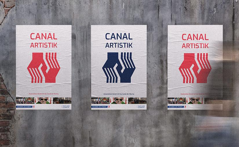 Canal Artistik / Identité visuelle / 3Web 15 mois
