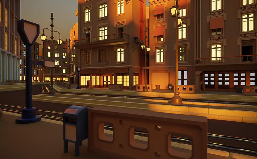Environnement 3D / Animation 01